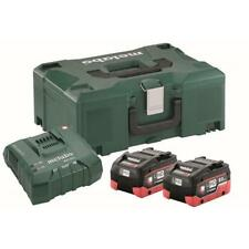 Metabo Basic Set LiHD 18v Incl. 2 X 8 0ah Batterie and Charger ASC 30-36 Ultra