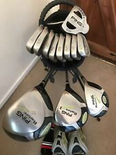 Ping Complete, Full Set Of Golf Clubs, Irons, Woods, Hybrid, Putter & NEW BAG