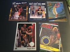 50 different Indiana Pacers cards with Jermaine O'Neal jersey card + Bonus cards