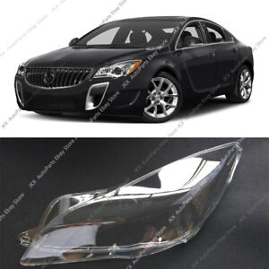 For Buick Regal 14-17 LEFT Driving Side Transparent Headlight HeadLamp Cover k