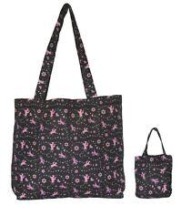 Foldaway Shopper Daisy Chain - Shopping Bag - Pretty horse and daisy print