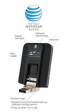 Netgear AT&T Beam Aircard 340U 4G LTE USB Modem