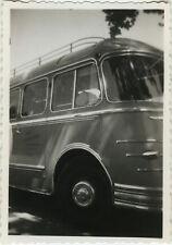 PHOTO ANCIENNE - VINTAGE SNAPSHOT - AUTOBUS BUS AUTOCAR CAR TRANSPORT