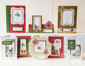 Kanban Vintage Christmas Card Making Kit - Toppers, Mirri, 22 Cards & Envs (566)