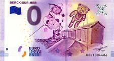 62 BERCK-SUR-MER Cabanes et cerfs-volants, 2018, Billet 0 € Souvenir