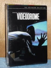 Videodrome (DVD, 2004, 2-Disc Set, Criterion) James Woods David Cronenberg film
