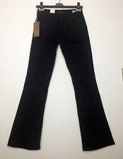 NEW!!! Mavi Molly Black Mid-Rise Bootcut Cotton Jeans Waist 26 Inches NWT