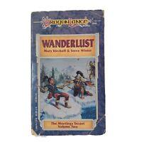 Wanderlust Paperback Book The Meetings Sextet Volume II Dragonlance Steve Winter