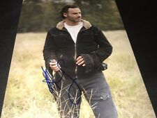 Andrew Lincoln The Walking Dead Scene Hand Signed 11x14 Photo Proof W/COA