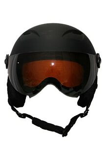 ski snowboard Helmet with visor goggles winter sports black 2019 model Wsd NEW