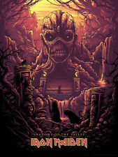 Iron Maiden Shadows of the Valley Variant Poster Print Dan Mumford #/100 SIGNED
