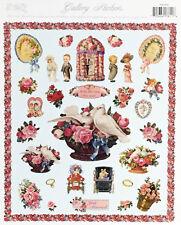 Wedding Romantic Victorian Sticker Sheet