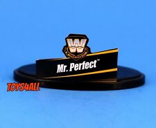WWE Mattel Elite Legends Mr Perfect Name Tag Stand Lot Action Figure Accessory