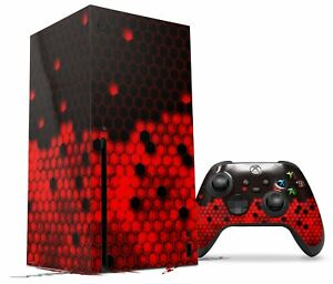 Skin Set for XBOX Series X HEX Red