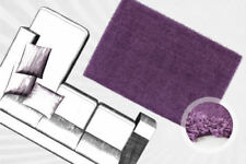 Tapis modernes violets pour la chambre