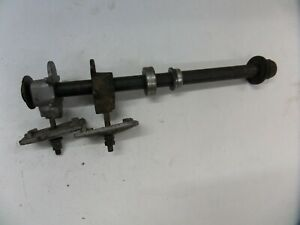 Yamaha FZS600 Fazer rear wheel spindle wheel pulls adjusters spacers and nut