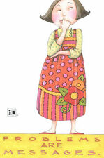 Mary Engelbreit-Problems Are Messages-Blank Greeting Card w/Envelope-New!