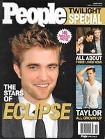 Robert Pattinson PEOPLE June 2010 MAGAZINE Twilight Eclipse Special Lautner