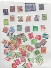 Stamps, nice small collection of old day German Stamps