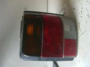 Tail Light Assembly 1989 SUBARU JUSTY Right Passenger 2 Door