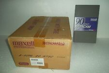 LOT-10 Maxell Betacam SP Professional Video Cassette 90 min 2198ft B-90ML BQ NEW