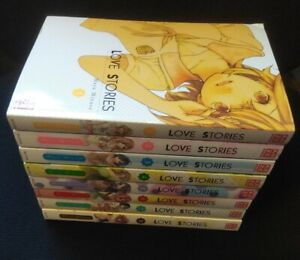 Love Stories Band 1 bis 8 komplett Manga Set + Aufsteller (Mayu Minase) deutsch