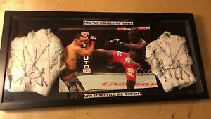 Phil Davis UFC Fight Night Worn Event Used Hand Wraps vs Nogueira - Bellator MMA