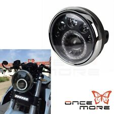"Motorcycle LED Headlight 7"" Inch For Motorcycle Classic Cafe Racer Bobber"