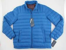 Tommy Hilfiger NEW Natural Down Fill $195 Packable Blue Mens Large Puffer Jacket
