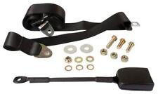 BEETLE Seat Belt Front 3pt Static Modern Buckle Stalk Black Securon