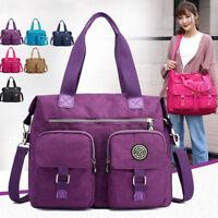 Women Canvas Handbag Shoulder Ladies Purse Messenger Satchel Crossbody Tote Bag
