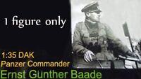 1/35 Resin WW2 German DAK Panzer Commander Unpainted Unbuild BL529