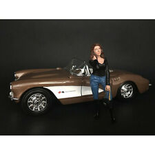 """LADIES NIGHT"" LINDSAY FIGURINE FOR 1/18 SCALE MODELS BY AMERICAN DIORAMA 38196"