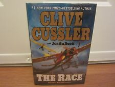 An Isaac Bell Adventure: THE RACE by Justin Scott and Clive Cussler  SIGNED