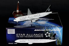 "United  Airlines B777-200ER ""Star Alliance"" N77022 JC Wings 1:200 Diecast XX2966"