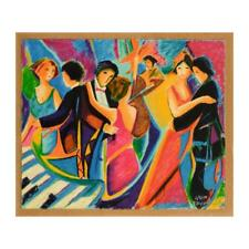 "Philip Maxwell - ""The Tango Club"" Limited Edition Serigraph on Canvas, Signed"