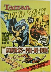 British Tarzan Summer Special, 1978- Russ Manning art- VF