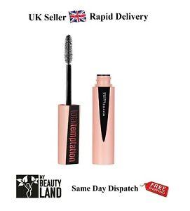 Maybelline Total Temptation Mascara 8.6ml, Sealed - BLACK - Rapid Delivery