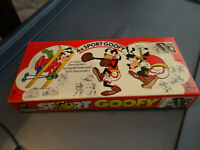 Vintage Disney Sport Goofy Rubber Stamps Collection of 24 NEW IN BOX RARE