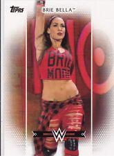 2017 TOPPS WWE BRIE BELLA SEXY RAW INSERT WRESTLING CARD R-12