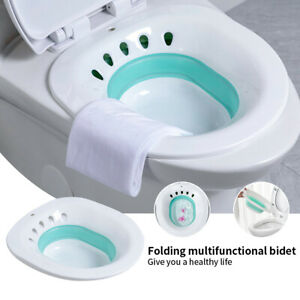 AU Portable Hemorrhoid Therapy Sitz Bath Toilet Bidet Tub for Pregnant Patient