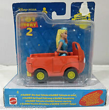 Disney Pixar Toy Story 2 Tour Guide Barbie Diecast Car With Figure Mattel 1999