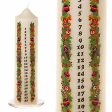 Corone e candele d'Avvento avorio