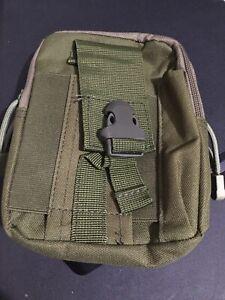 Tactical MOLLE Gadget EDC Utility Pocket Pouch Organizer Bag OD Green