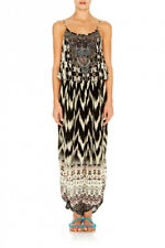 96809a7906 Camilla Franks Call of the Wild Shoe String Strap Jumpsuit Size 1