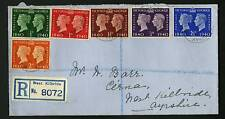 Great Britain 1940  Scott # 252-257   FDC