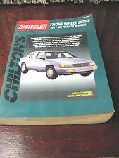 CHRYSLER  FRONT  WHEEL  DRIVE  REPAIR  MANUAL CHILTON'S 1981 -92 VG
