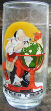 Coca Cola Christmas Glass by Norman Rockwell Dec. 4, 1926