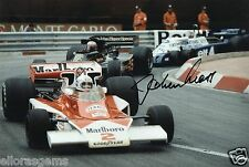 "Former Formula One F1 & Le Man Driver Jochen Mass Hand Sigend Photo 12x8"" M"
