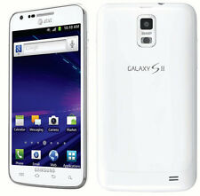 White AT&T SAMSUNG GALAXY S2 S II SKYROCKET SGH-I727 4G LTE 16GB GSM SMARTPHONE